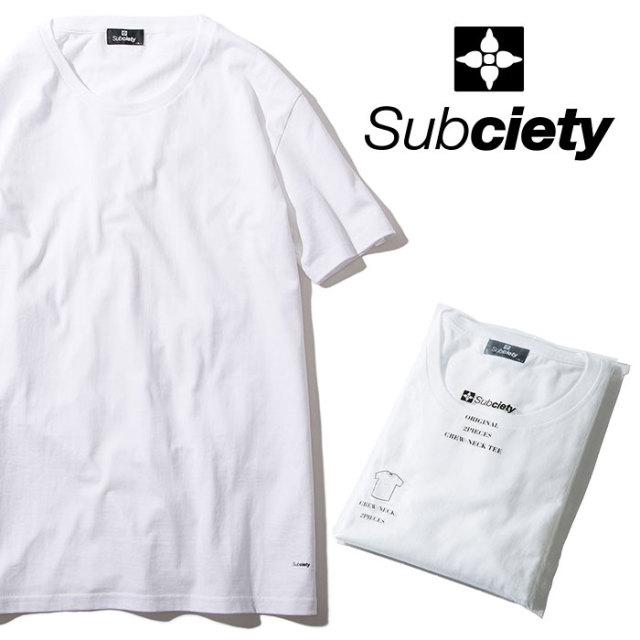 SUBCIETY(サブサエティ) PACK TEE 【2018AUTUMN/WINTER先行予約】 【キャンセル不可】 【105-40022】