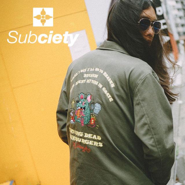 SUBCIETY(サブサエティ) VIETNAM JACKET 【2018AUTUMN/WINTER先行予約】 【送料無料】【キャンセル不可】 【107-62307】