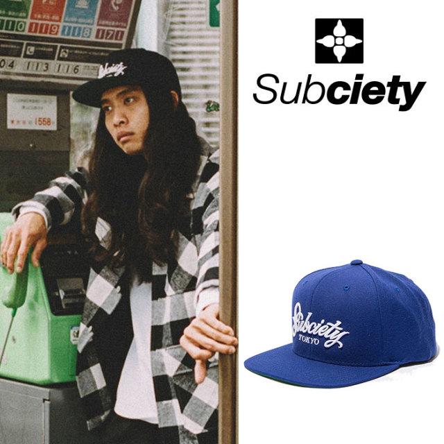 SUBCIETY(サブサエティ) SNAP BACK CAP-Primal- 【2018AUTUMN/WINTER先行予約】 【キャンセル不可】 【107-86335】