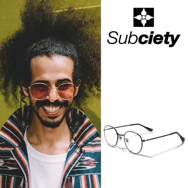 SUBCIETY(サブサエティ) SUNGLASS-Chad- 【2018AUTUMN/WINTER先行予約】 【キャンセル不可】 【SUBCIETY サングラス】【107-8734
