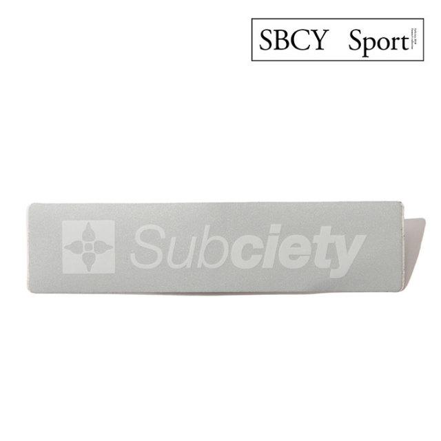 SUBCIETY(サブサエティ) REFLECTOR STICKER 【2019SPRING先行予約】 【キャンセル不可】 【113-87009】
