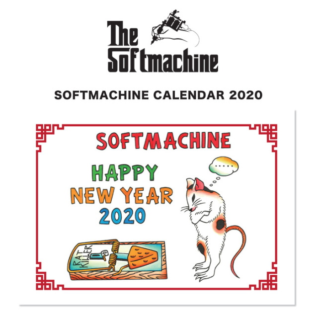 SOFTMACHINE(ソフトマシーン) SOFTMACHINE 2020 CALENDAR (CALENDAR) 【ソフトマシーン カレンダー】