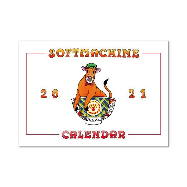 SOFTMACHINE(ソフトマシーン) SOFTMACHINE 2021 CALENDAR (CALENDAR) 【ソフトマシーン カレンダー】