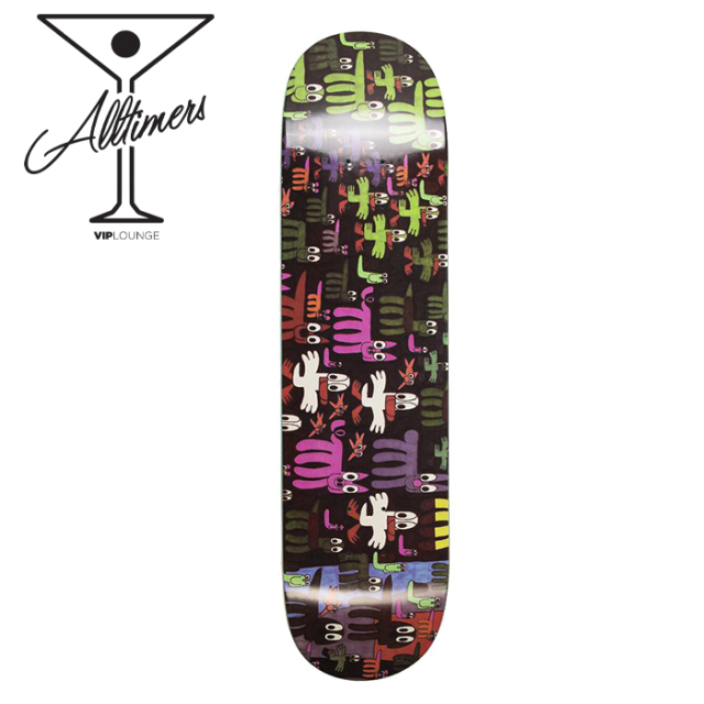 Alltimers (オールタイマーズ)  TEAM CREATIVE GROWTH PAUL FIELDS (8.0inch)  【Alltimers オールタイマーズ】【スケートボード】