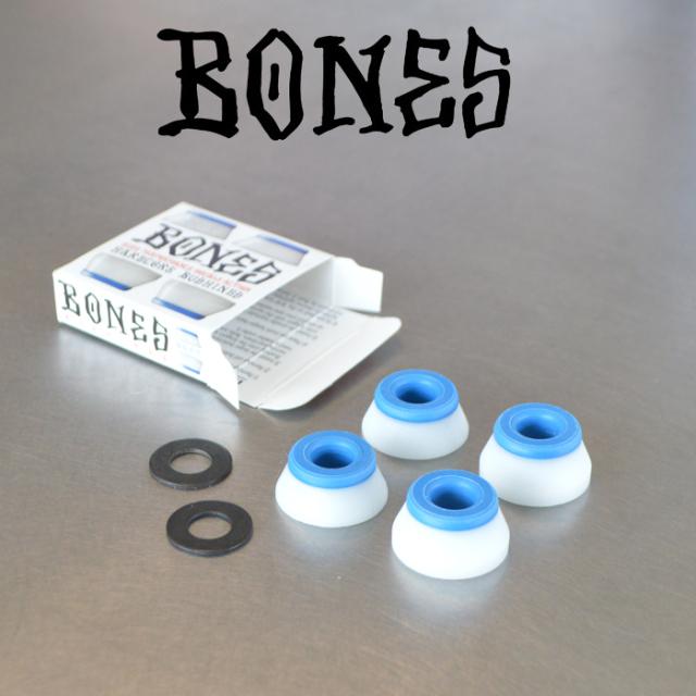 BONES BEARING (ボーンズベアリング) BONES HARDCORE BUSHINGS SET(SOFT) 【ボーンズ ボーンズベアリング ソフト】【REDS】【スケ