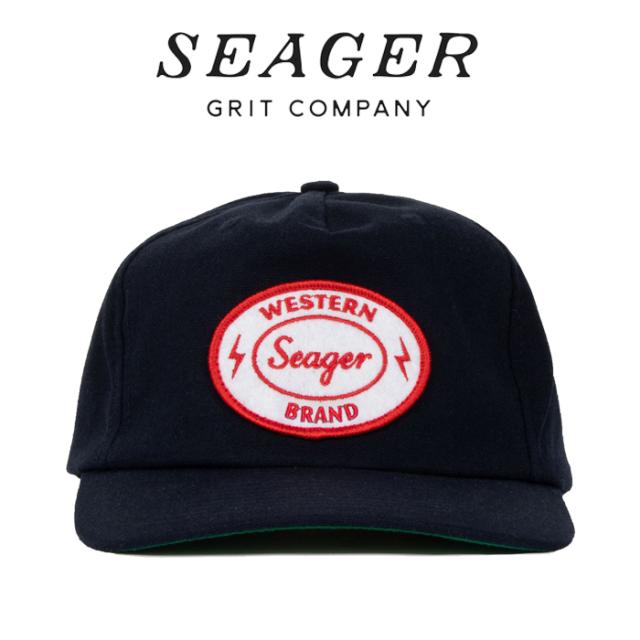 SEAGER(シーガー) FORD HEMP SNAPBACK NAVY 【キャップ 帽子】【シーガー キャップ】【定番 人気 シンプル アウトドア サーフィン