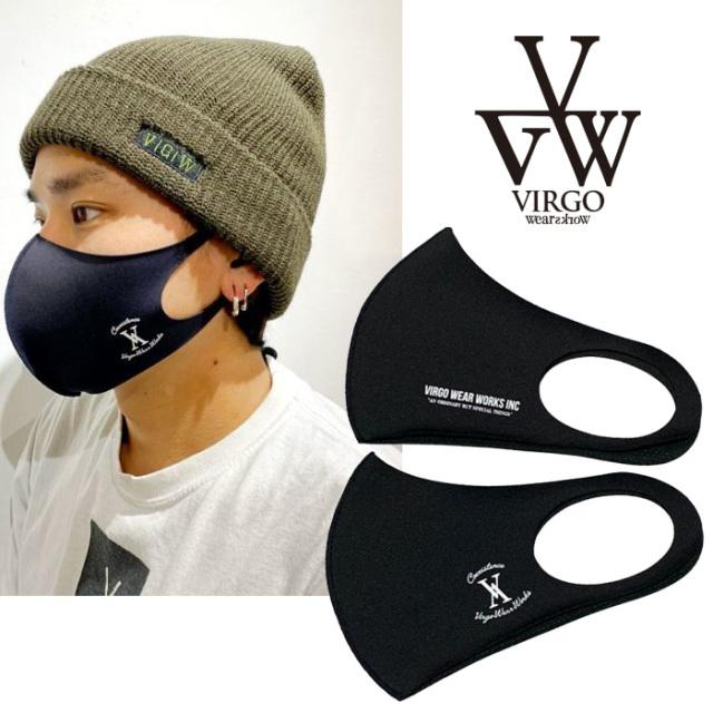 VIRGO ヴァルゴ バルゴ FLOWERS 【マスク】【3Dマスク ファッションマスク】【VG-GD-652】