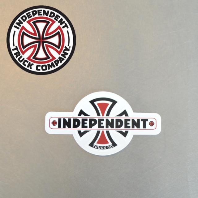 "Independent Trucks (インディペンデント) INDEPENDENT STICKER Vintage B/C 4"" 【インディペンデント ステッカー シール】【スケ"