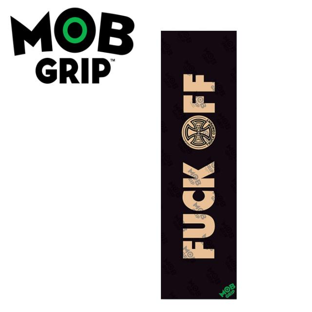 MOB GRIP(モブグリップ) INDEPENDENT FUCK OFF CLEAR GRIPTAPE 【モブグリップ】【INDEPENDENT】【スケートボード 】【スケボー パ