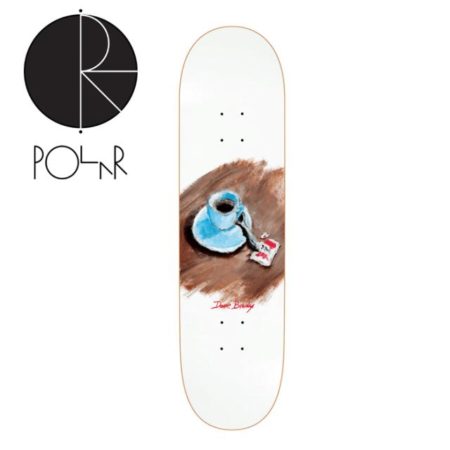 POLAR SKATE CO. (ポーラースケート)  DANE BRADY CIMBALINO WHITE (8.0inch)   【POLAR SKATE CO. POLAR ポーラースケート ポーラ