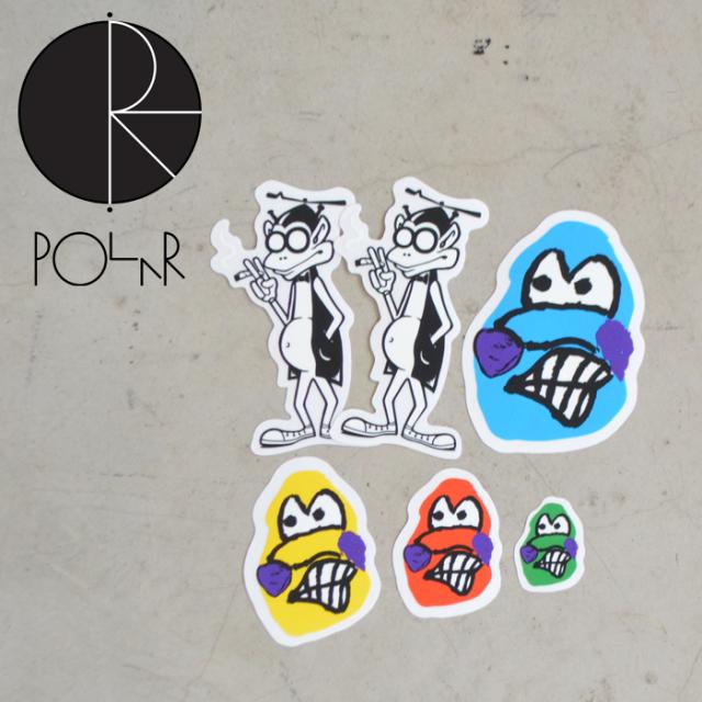 POLAR SKATE CO. (ポーラースケート)  STICKER - Dane Faces / Gizmos -  【POLAR SKATE CO. POLAR ポーラースケート ポーラー】【