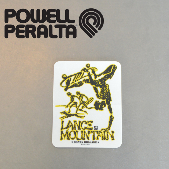 POWELL PERALTA (パウエルペラルタ) POWELL PERALTA STICKER LANCE MOUNTAIN 【パウエルペラルタ】【スケートボード 】【スケボー