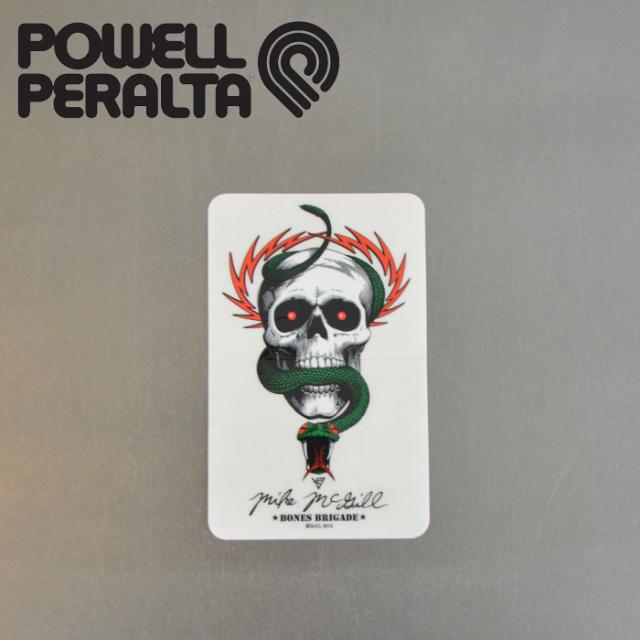 POWELL PERALTA (パウエルペラルタ) POWELL PERALTA STICKER LTD STICKER MIKE MCGILL 【パウエルペラルタ】【スケートボード 】【