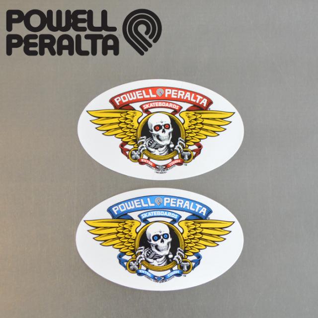 """POWELL PERALTA (パウエルペラルタ) POWELL PERALTA STICKER WINGED RIPPER 6.5"""" 【パウエルペラルタ】【スケートボード 】【スケ"""