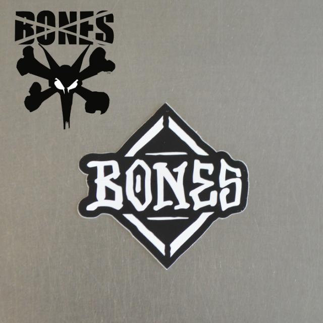 """BONES (ボーンズ) BONES STICKER DIAMOND 3"""" 【ボーンズ ウィール】【スケートボード 】【スケボー】【ステッカー】"""