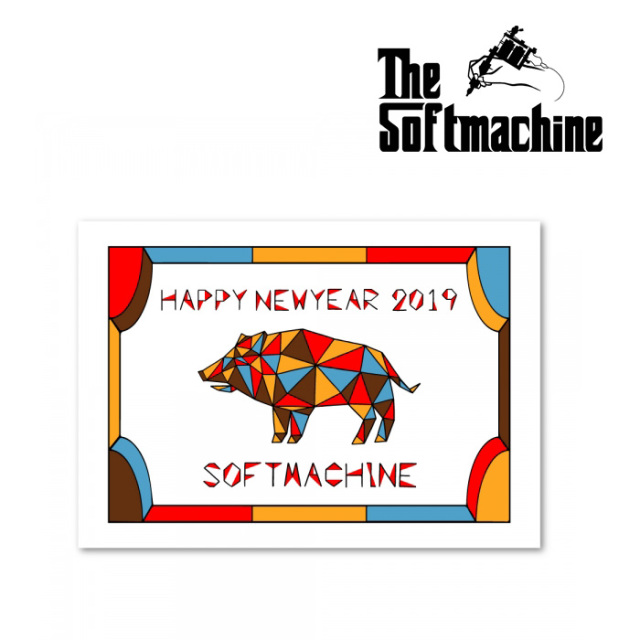 SOFTMACHINE(ソフトマシーン) SOFTMACHINE 2019 CALENDAR (CALENDAR) 【即発送可能】 【SOFTMACHINE(ソフトマシーン) カレンダー
