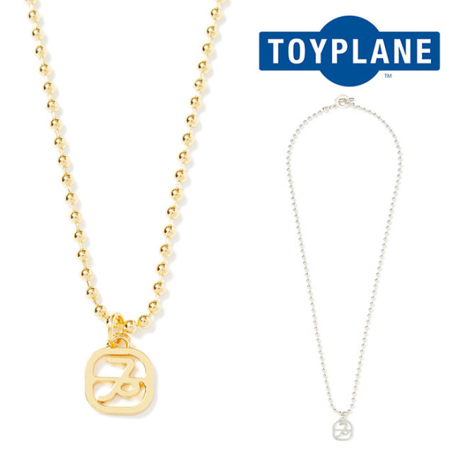 【SALE30%OFF】 TOYPLANE(トイプレーン) SYMBOL BALL CHAIN NECKLACE 【2019SPRING新作】【TP19-HAC10】【ネックレス【セール】br