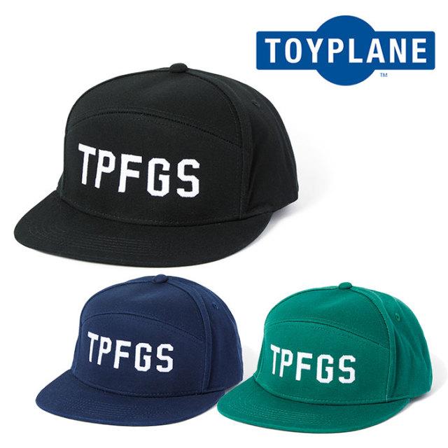 【SALE50%OFF】 TOYPLANE(トイプレーン) TPFGS CAP 【キャップ 帽子 セール】 【2019SPRING新作】【TP19-HCP01】