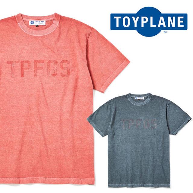 TOYPLANE(トイプレーン) S/S PIGMENT DYET TEE 【2019SPRING先行予約】【キャンセル不可】 【TP19-HCS03】【Tシャツ】