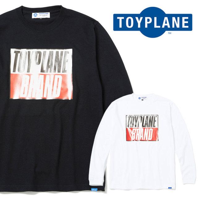 【SALE30%OFF】 TOYPLANE(トイプレーン) L/S PSYCHO KILLER TEE 【長袖Tシャツ ロンT セール】 【2019SPRING新作】【TP19-HTE06
