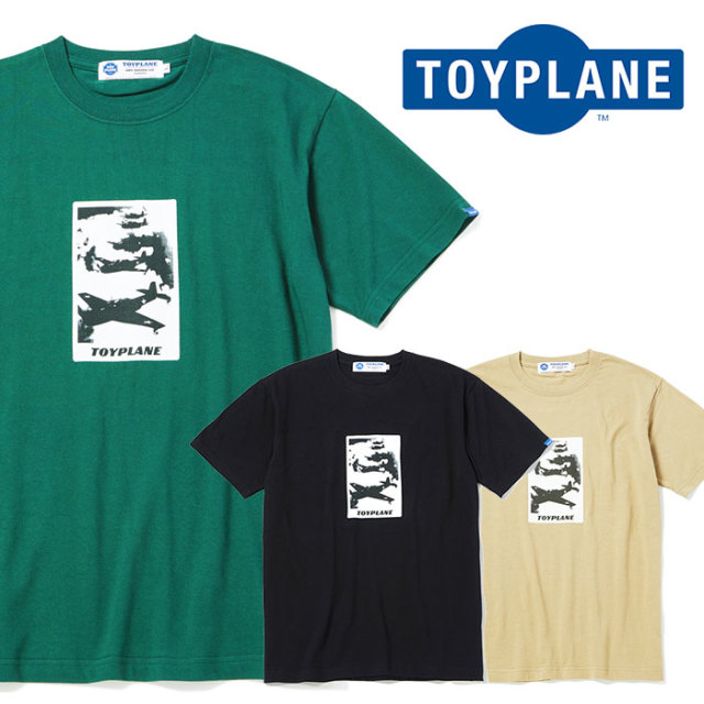 TOYPLANE(トイプレーン) ZERO TEE 【2019SPRING先行予約】【キャンセル不可】 【TP19-HTE08】【Tシャツ】