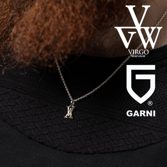 VIRGO ヴァルゴ バルゴ CROSS V NECKLACE(GARNI x VIRGOwearworks) 【ネックレス】【VG-CB-112】【2020AUTUMN&WINTER先行予約】【