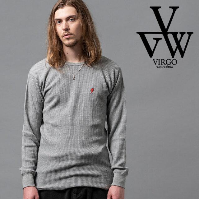 VIRGO ヴァルゴ バルゴ THUNDER WAFFLE 【カットソー】【VG-CUT-415】【2020AUTUMN&WINTER先行予約】【キャンセル不可】【VIRGOwea