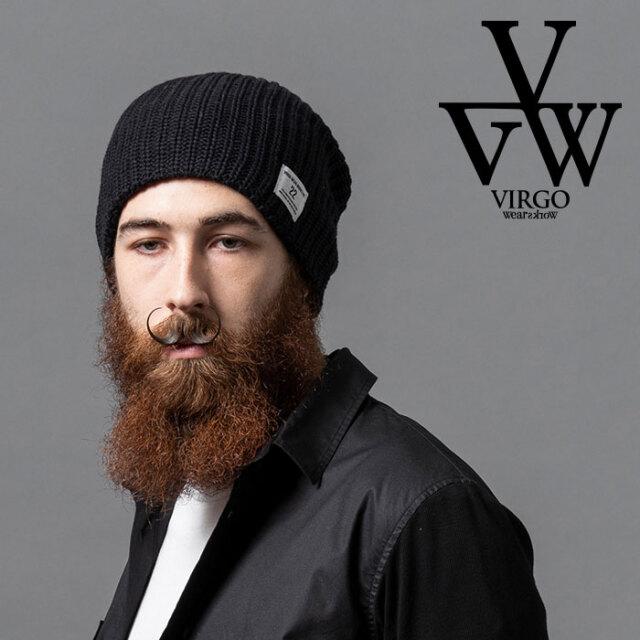 VIRGO ヴァルゴ バルゴ HEAVY KNIT BEANIE 【ビーニー ニットキャップ】【VG-GD-637】【2020AUTUMN&WINTER先行予約】【キャンセル