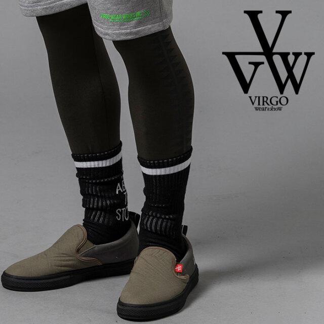 VIRGO ヴァルゴ バルゴ RISE SOCKS 【ソックス 靴下】【VG-GD-643】【2020AUTUMN&WINTER新作】【VIRGOwearworks】