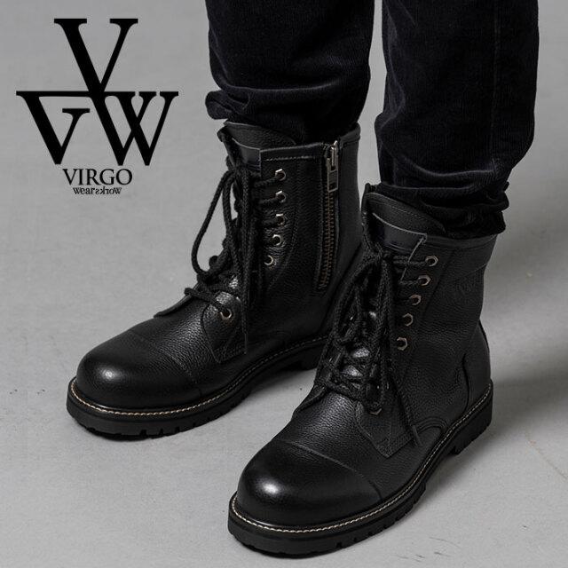 VIRGO ヴァルゴ バルゴ 8HOLE MILITARIA BOOTS 【ブーツ】【VG-GD-644】【2020AUTUMN&WINTER先行予約】【キャンセル不可】【VIRGO