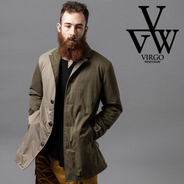 VIRGO ヴァルゴ バルゴ COMPOSITION MIDDLE COAT 【ミドルコート】【VG-JKT-327】【2020AUTUMN&WINTER先行予約】【キャンセル不可