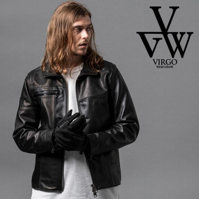 VIRGO ヴァルゴ バルゴ SPCIAL PAZZLE  LEATHER JKT 【レザージャケット】【VG-JKT-329】【2020AUTUMN&WINTER先行予約】【キャンセ