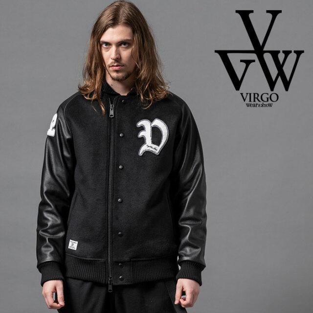 VIRGO ヴァルゴ バルゴ VGW CREW STADIUM JKT 【スタジアムジャケット】【VG-JKT-330】【2020AUTUMN&WINTER新作】【VIRGOwearworks