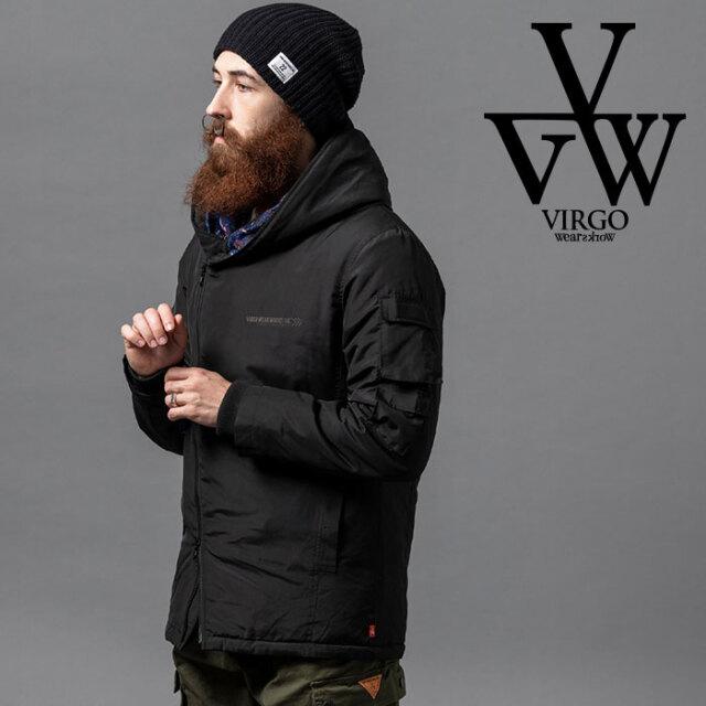 VIRGO ヴァルゴ バルゴ SNAIL RIDERS DOWN JKT 【ダウンジャケット】【VG-JKT-332】【2020AUTUMN&WINTER先行予約】【キャンセル不