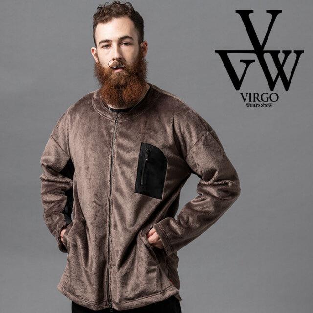 VIRGO ヴァルゴ バルゴ ANIMALISTIC BOA JKT 【ボアジャケット】【VG-JKT-333】【2020AUTUMN&WINTER新作】【VIRGOwearworks】