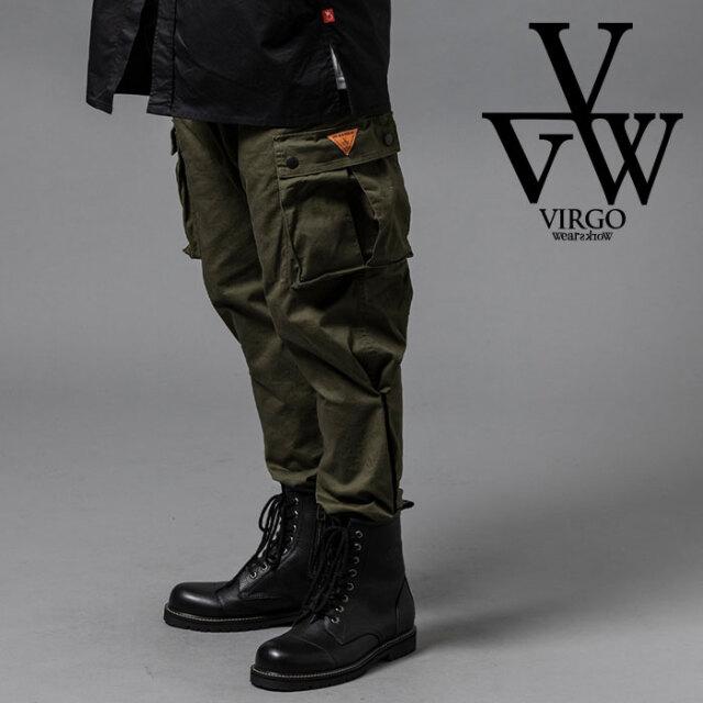 VIRGO ヴァルゴ バルゴ 2WAY JOGGER CARGO 【カーゴパンツ ジョガーパンツ ブラック】【VG-PT-333】【2020AUTUMN&WINTER新作】【VI