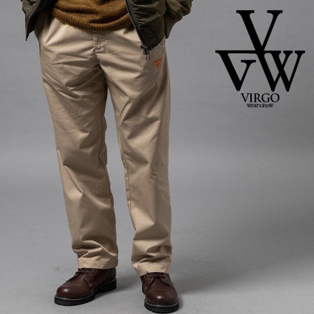 VIRGO ヴァルゴ バルゴ FAT CHINO PT 【チノパンツ】【VG-PT-335】【2020AUTUMN&WINTER先行予約】【キャンセル不可】【VIRGOwearwo