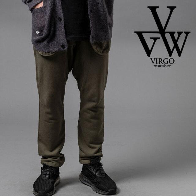 VIRGO ヴァルゴ バルゴ BREAD SWT PANTS 【スウェットパンツ ブラック グレー】【VG-PT-336】【2020AUTUMN&WINTER新作】【VIRGOwea