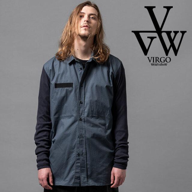 VIRGO ヴァルゴ バルゴ INHALE SHIRTS 【シャツ 長袖】【VG-SH-222】【2020AUTUMN&WINTER先行予約】【キャンセル不可】【VIRGOwear