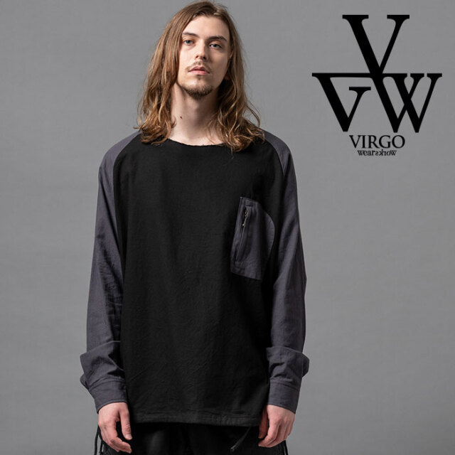 VIRGO ヴァルゴ バルゴ VIRTALY CHANGE SHIRTS 【シャツ 長袖】【VG-SH-223】【2020AUTUMN&WINTER先行予約】【キャンセル不可】【V