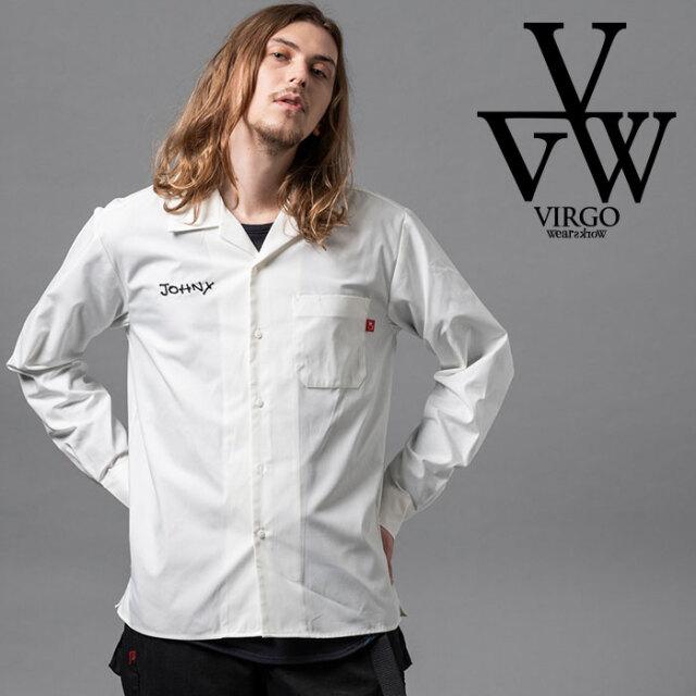 VIRGO ヴァルゴ バルゴ OUTSIDER SHIRTS 【シャツ 長袖】【VG-SH-224】【2020AUTUMN&WINTER先行予約】【キャンセル不可】【VIRGOwe
