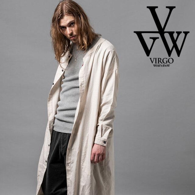 VIRGO ヴァルゴ バルゴ ROCKET LONG SHIRTS 【シャツ 長袖】【VG-SH-221】【2020AUTUMN&WINTER先行予約】【キャンセル不可】【VIRG