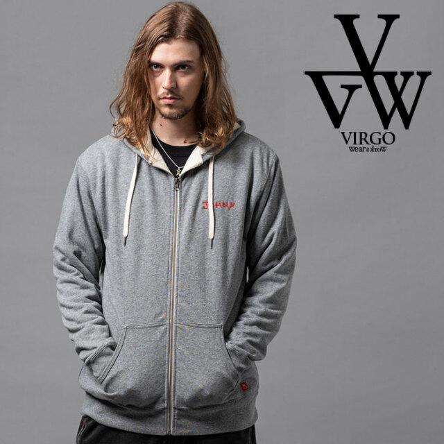 VIRGO ヴァルゴ バルゴ BOA ZIP PARKA 【ジップパーカー】【VG-SWT-126】【2020AUTUMN&WINTER先行予約】【キャンセル不可】【VIRGO