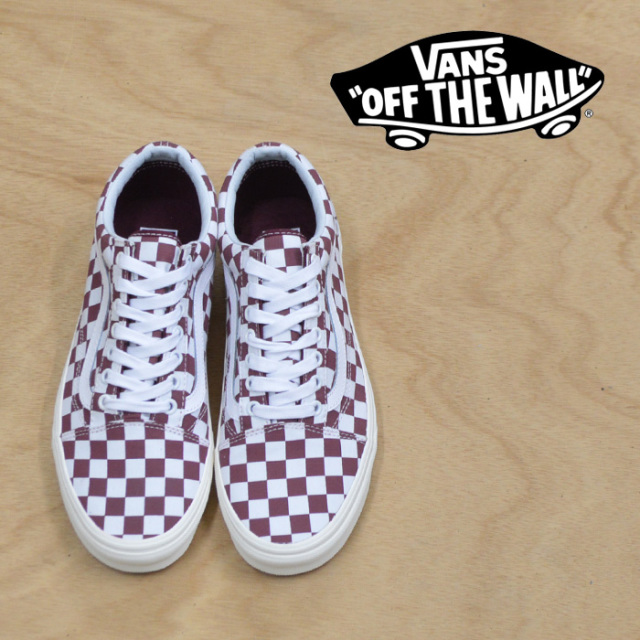 【VANS(バンズ)】 OLD SKOOL (CHECKERBOARD) PORT ROYAL 【VANS スニーカー】【VN0A38G1U54】