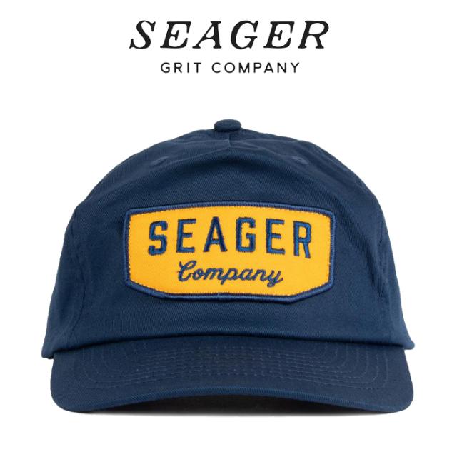 SEAGER(シーガー) WILSON SNAPBACK NAVY 【キャップ 帽子】【シーガー キャップ】【定番 人気 シンプル アウトドア サーフィン ス