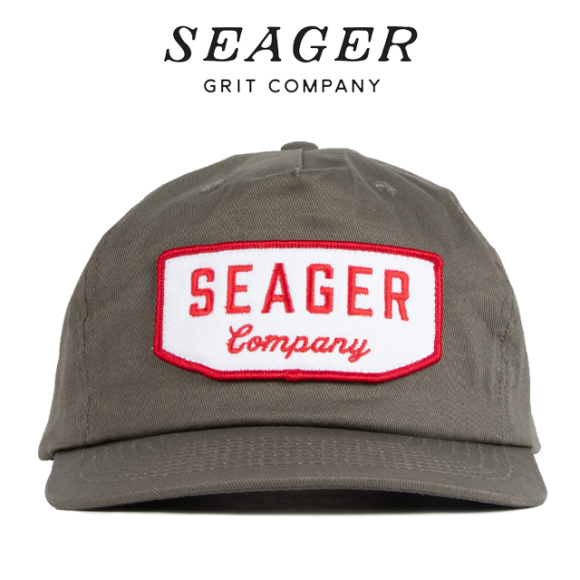 SEAGER(シーガー) WILSON SNAPBACK STONE GREY 【キャップ 帽子】【シーガー キャップ】【定番 人気 シンプル アウトドア サーフィ