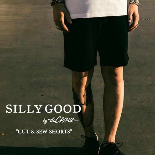 SILLY GOOD(シリーグッド) CUT & SEW  SHORTS 【2017SPRING/SUMMER新作】 【即発送可能】 【S1G1-MPT03】