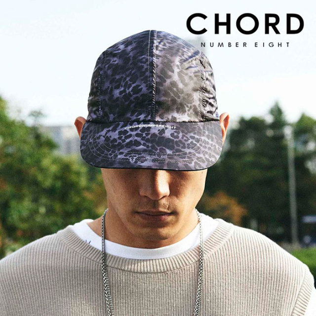 CHORD NUMBER EIGHT(コードナンバーエイト) LEOPARD LONG BILL CAP 【キャップ】【レオパード柄 おしゃれ 人気】【CH01-02L1-HW01