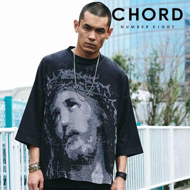 CHORD NUMBER EIGHT(コードナンバーエイト) CHRIST JACQUARD KNIT 【ジャガードニット】【ブラック シンプル おしゃれ 人気】【CH0