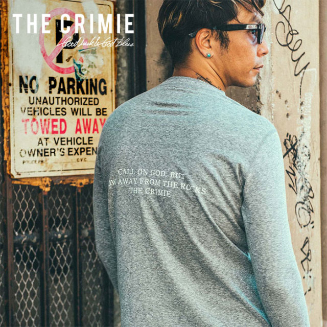 CRIMIE(クライミー) HENLEY NECK 7TH SLEEVE VINTEGE SHIRT 【2019SUMMER先行予約】 【キャンセル不可】【CR01-01K3-CS01】【シャ